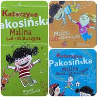 Malina cud dziewczyna, Malina szał dziewczyna, Malina miód dziewczyna – wiek 7+