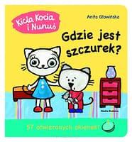 Kicia Kocia i Nunuś. Gdzie jest szczurek? – wiek 2+