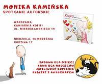 Spotkanie autorskie z Moniką Kamińską w Kofifi - 15 września